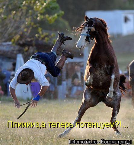 Котоматрица: Плииииз,а теперь потанцуем?!...