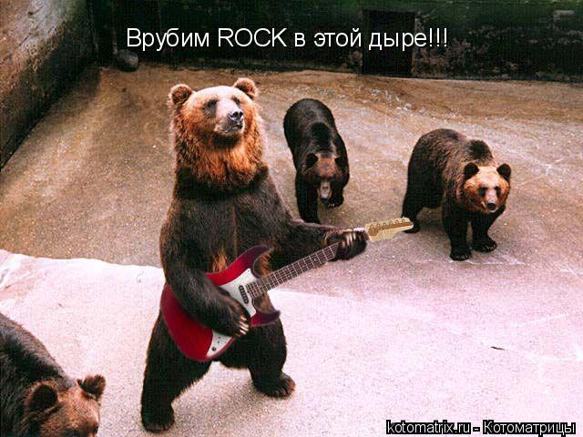 Котоматрица: Врубим ROCK в этой дыре!!!