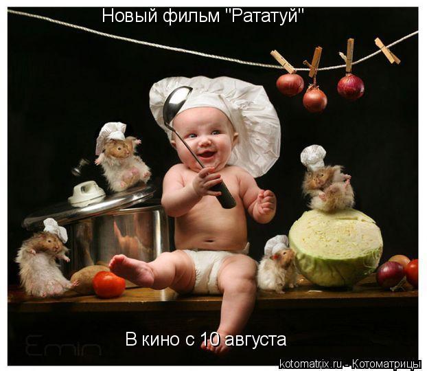 """Котоматрица: Новый фильм """"Рататуй"""" В кино с 10 августа"""