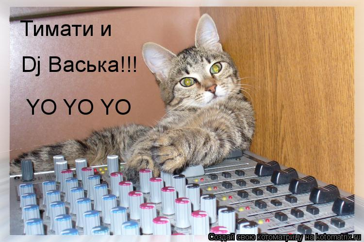 Котоматрица: Тимати и  Dj Васька!!! YO YO YO