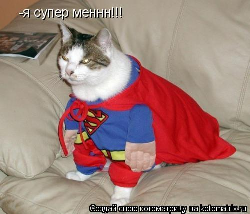 Котоматрица: -я супер меннн!!!