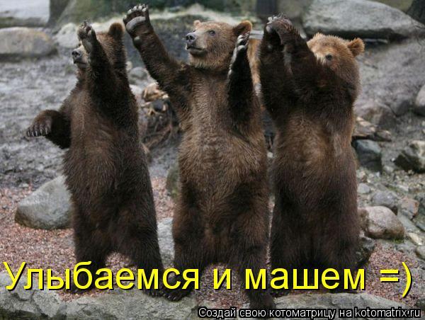 Котоматрица: Улыбаемся и машем =)