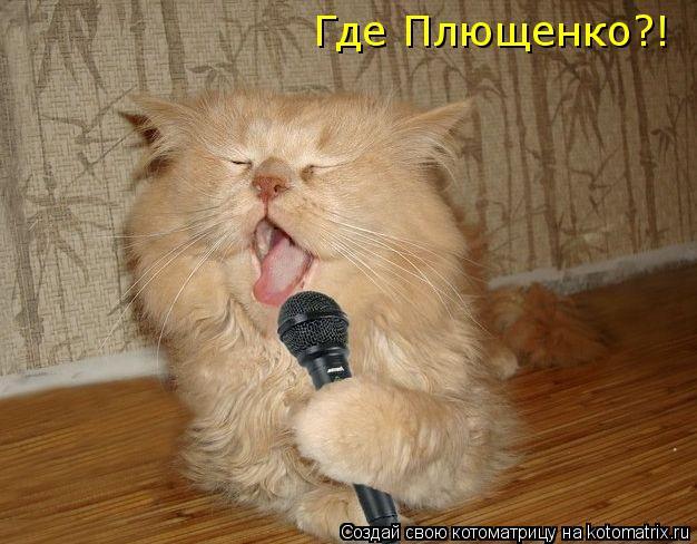 Котоматрица: Где Плющенко?!