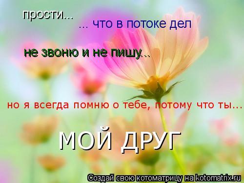 Помни я всегда с тобой поздравление