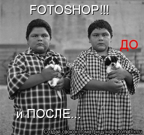 Котоматрица: FOTOSHOP!!!  ДО и ПОСЛЕ...