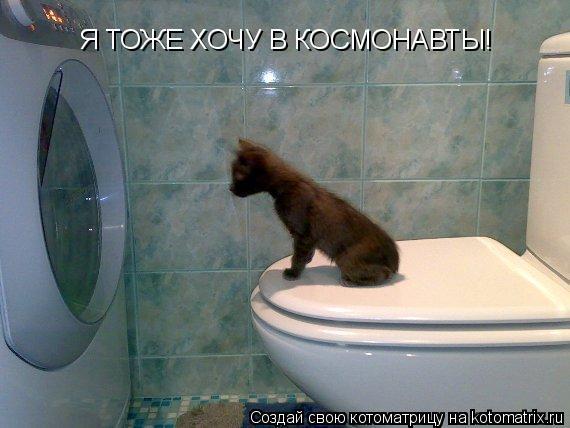 Котоматрица: Я ТОЖЕ ХОЧУ В КОСМОНАВТЫ!