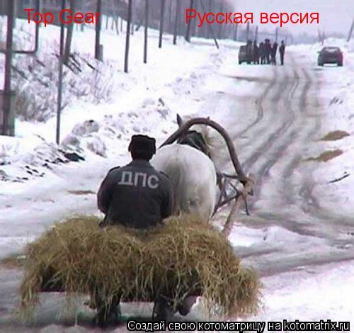 Котоматрица: Top Gear Русская версия