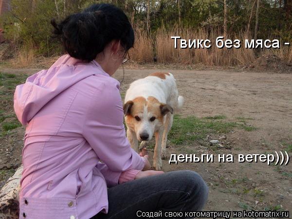 Котоматрица: Твикс без мяса - деньги на ветер)))