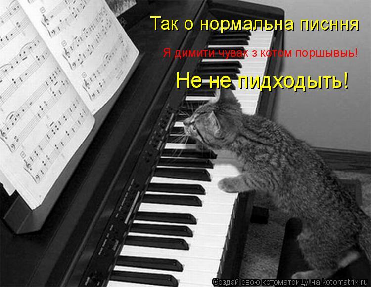Котоматрица: Так о нормальна писння Я димити чувак з котом поршывыь! Не не пидходыть!