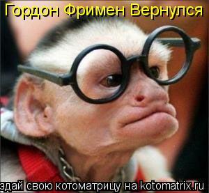 Котоматрица: Гордон Фримен Вернулся