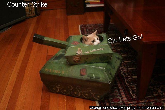 Котоматрица: Counter-Strike Ok, Lets Go!