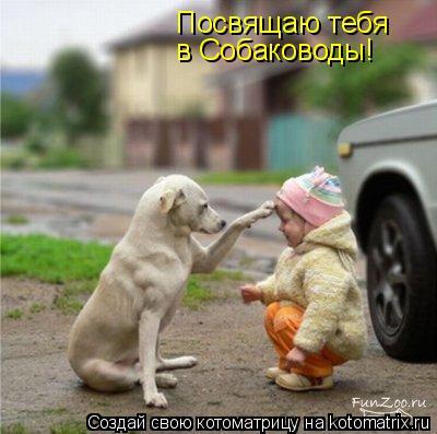 Котоматрица: Посвящаю тебя в Собаководы!