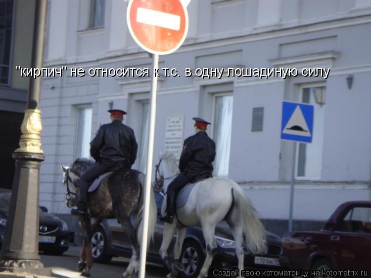 """Котоматрица: """"кирпич"""" не относится к т.с. в одну лошадиную силу"""