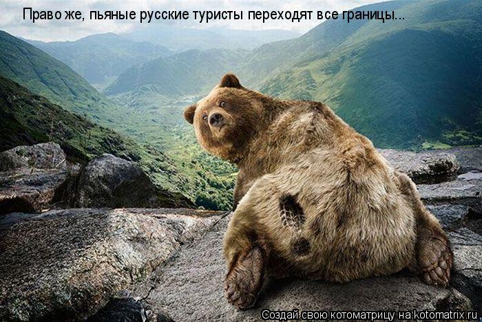 Котоматрица: Право же, пьяные русские туристы переходят все границы...