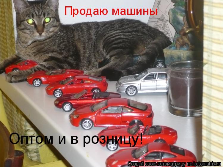 Котоматрица: Продаю машины Оптом и в розницу!
