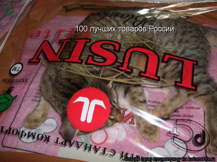 Котоматрица: 100 лучших товаров России