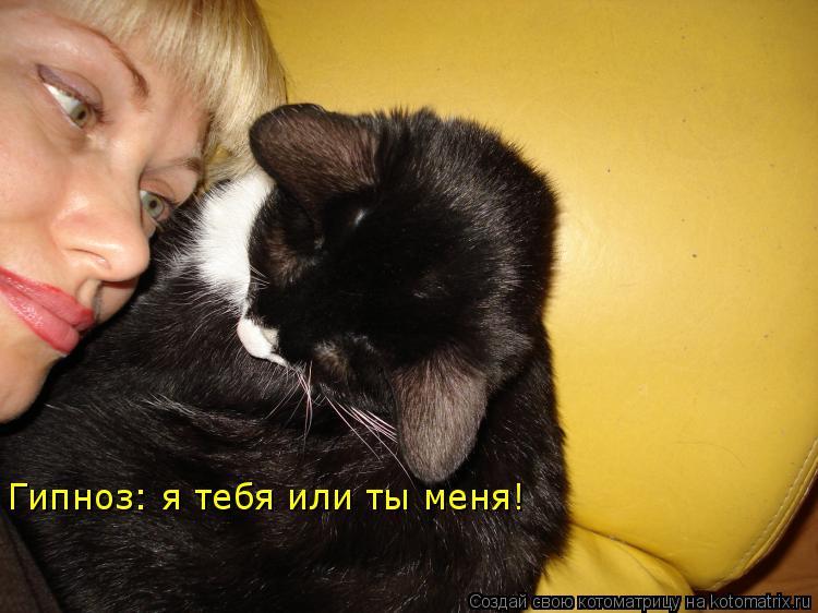 Котоматрица: Гипноз: я тебя или ты меня!