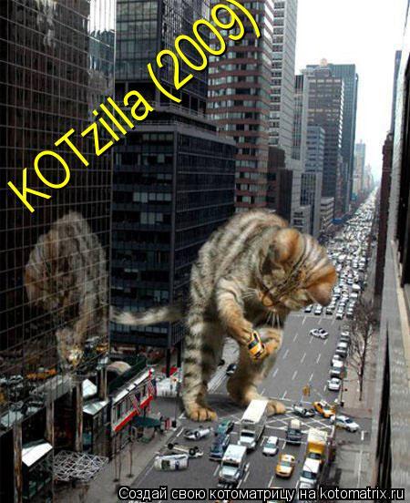 Котоматрица: KOTzilla (2009)