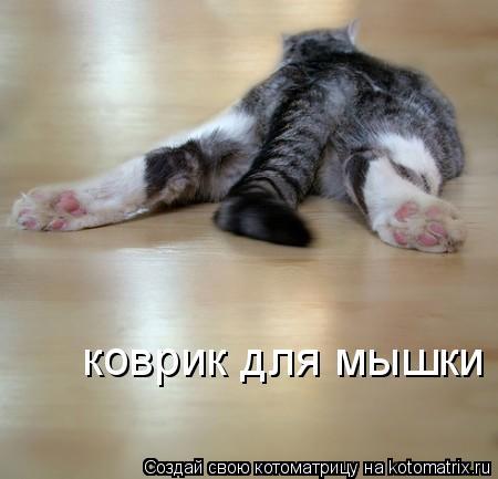 Котоматрица: коврик для мышки