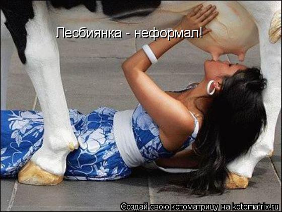 Котоматрица: Лесбиянка - неформал!