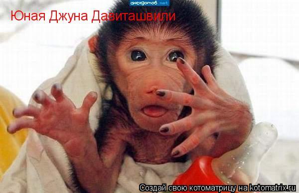 Котоматрица: Юная Джуна Давиташвили