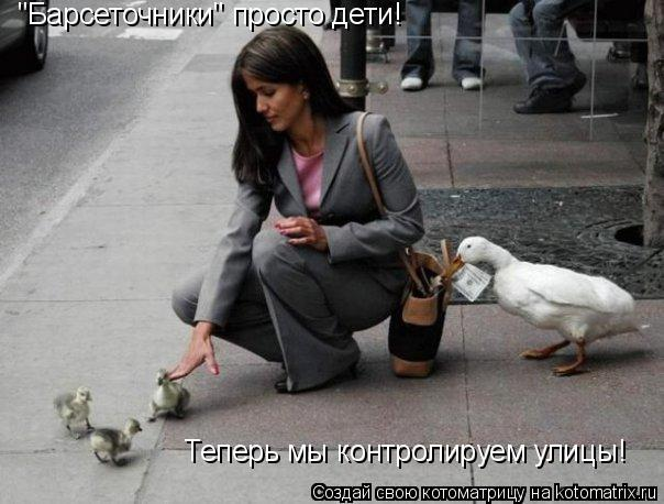 """Котоматрица: """"Барсеточники"""" просто дети! Теперь мы контролируем улицы!"""