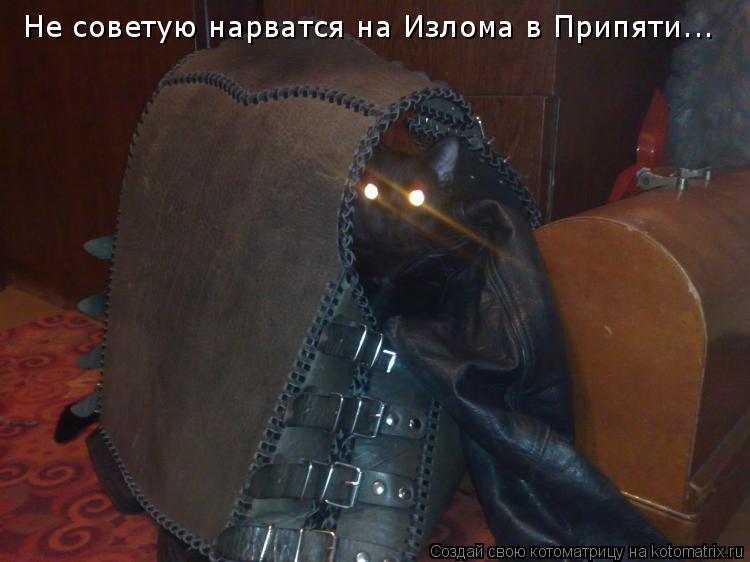 Котоматрица: Не советую нарватся на Излома в Припяти...