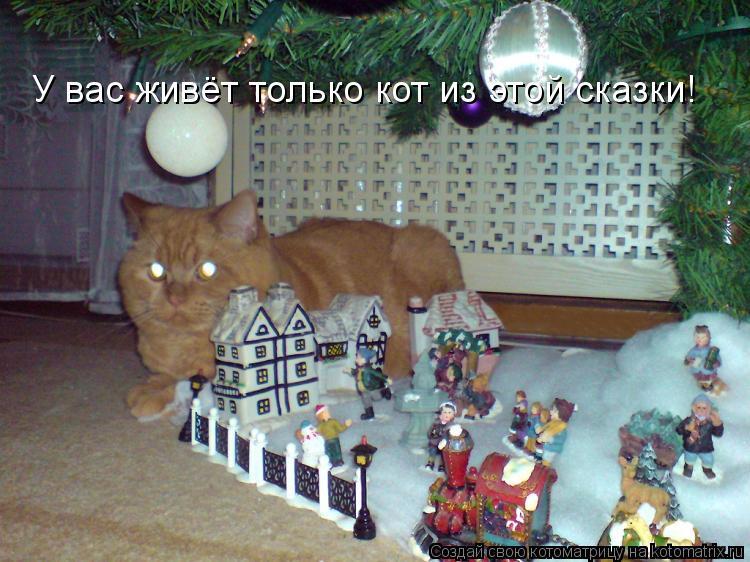 Котоматрица: У вас живёт только кот из этой сказки!