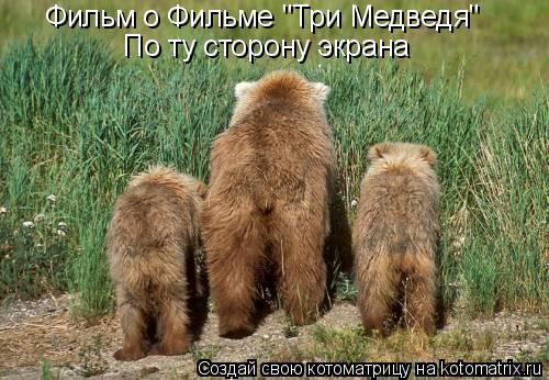 """Котоматрица: Фильм о Фильме """"Три Медведя"""" По ту сторону экрана"""
