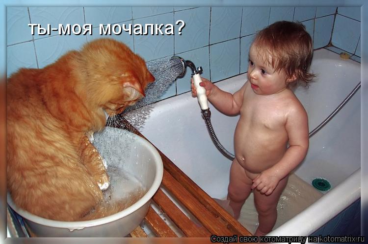 Котоматрица: ты-моя мочалка?