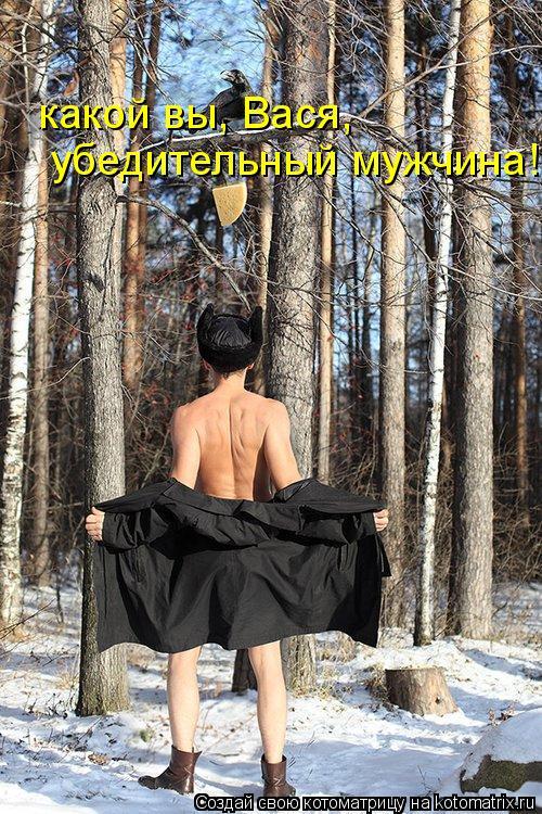 Котоматрица: какой вы, Вася, убедительный мужчина!
