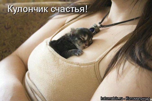 Котоматрица: Кулончик счастья!