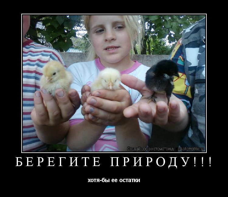 Котоматрица: Берегите природу!!! хотя-бы ее остатки