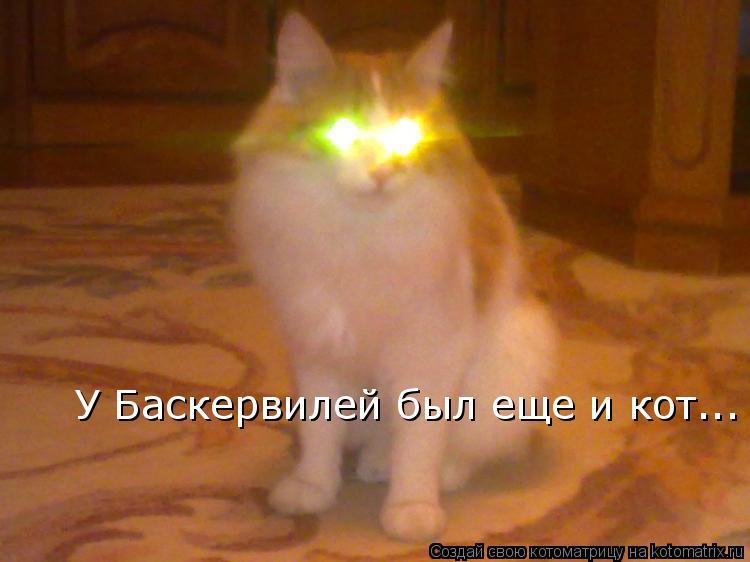 Котоматрица: У Баскервилей был еще и кот...
