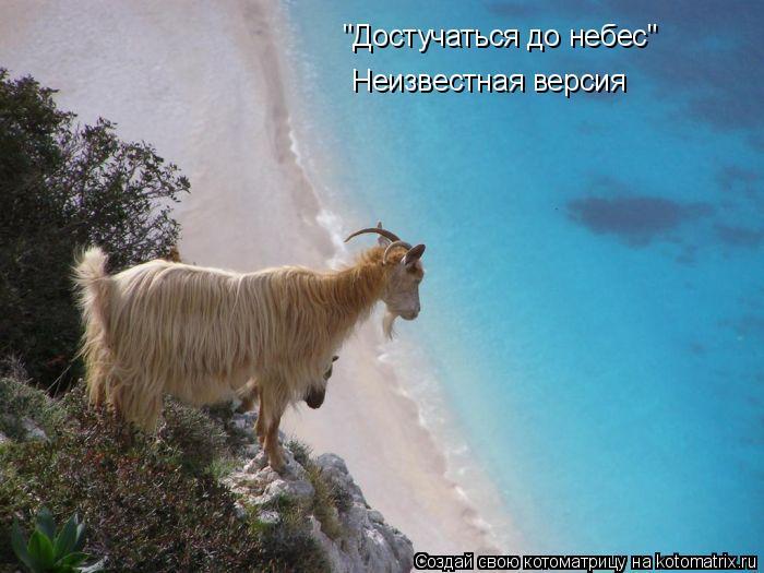 """Котоматрица: """"Достучаться до небес"""" Неизвестная версия"""