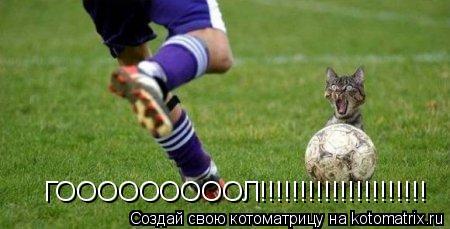 Котоматрица: ГОООООООООЛ!!!!!!!!!!!!!!!!!!!!!