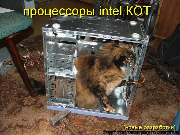 Котоматрица: процессоры intel КОТ (новые разработки)