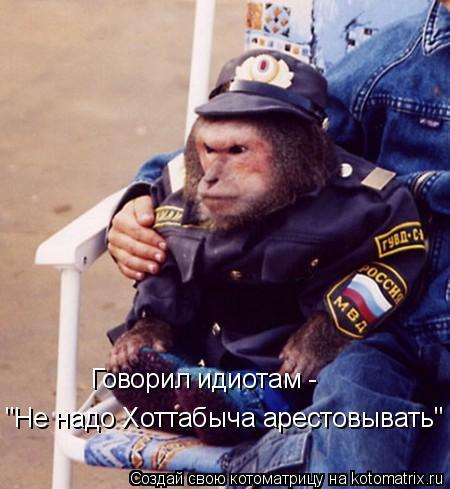 """Котоматрица: Говорил идиотам -  """"Не надо Хоттабыча арестовывать"""""""