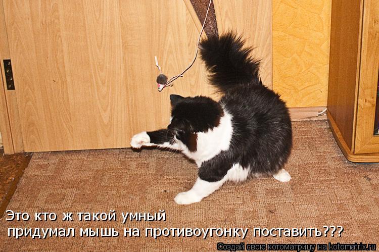 Это кто ж такой умный придумал мышь на противоугонку поставить???