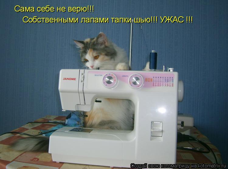 Матроскин не только на машинке вышивать умеет