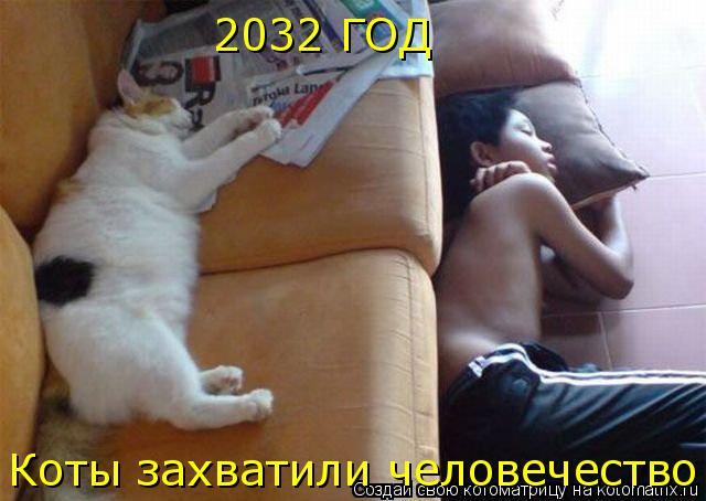 Котоматрица: 2032 ГОД Коты захватили человечество