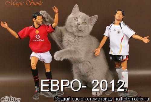 Котоматрица: ЕВРО- 2012
