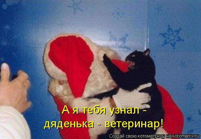 Котоматрица: А я тебя узнал - дяденька - ветеринар!