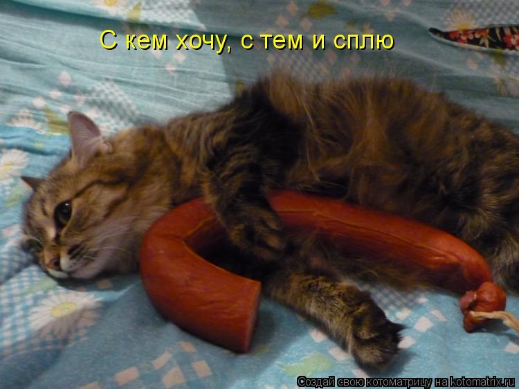 Котоматрица - С кем хочу, с тем и сплю