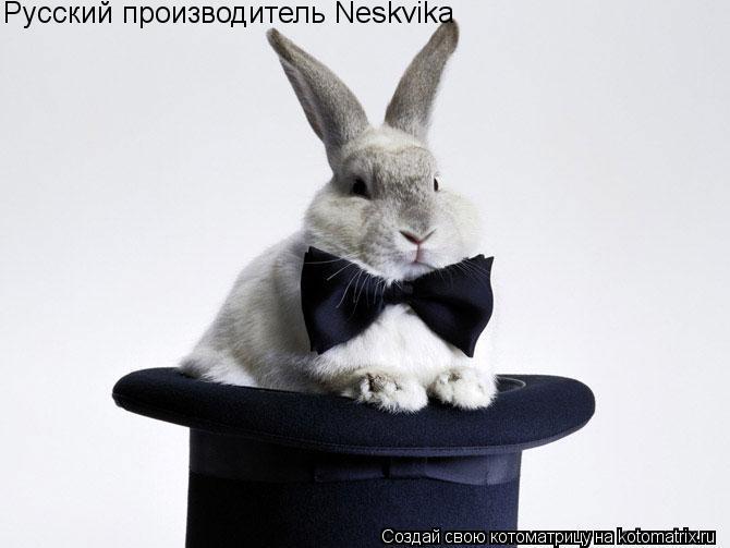 Котоматрица: Русский производитель Neskvika