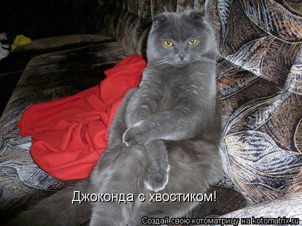 Котоматрица: Джоконда с хвостиком!