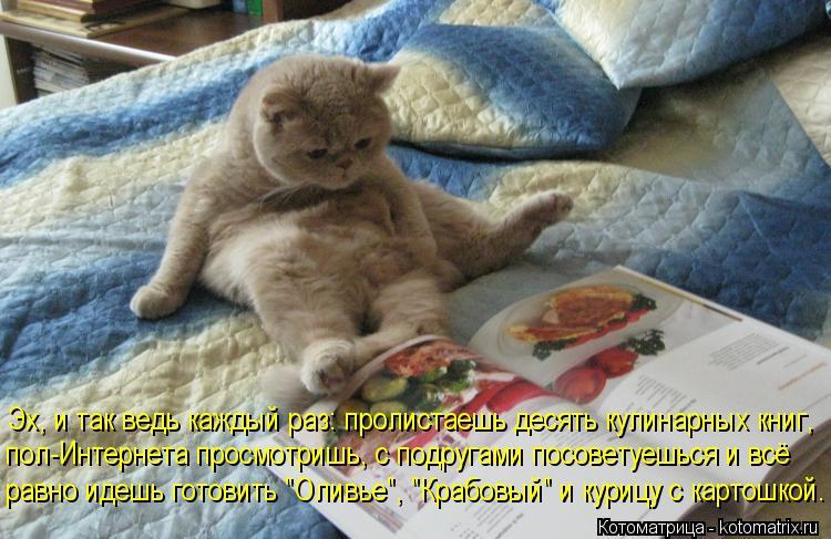 Эх, и так ведь каждый раз: пролистаешь десять кулинарных книг, пол-Интернета просмотришь, с подругами посоветуешься и всё равно идешь готов