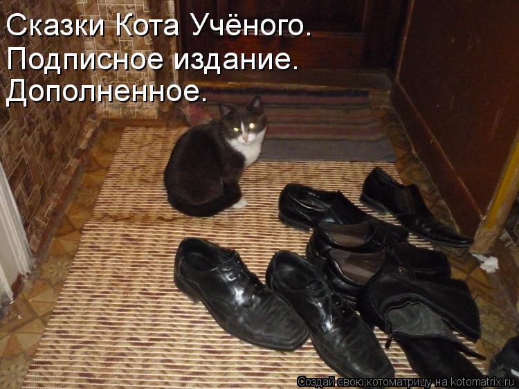 Котоматрица: Сказки Кота Учёного. Подписное издание. Дополненное.