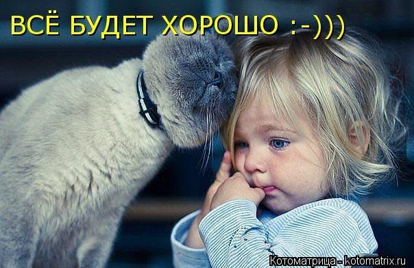 Котоматрица: ВСЁ БУДЕТ ХОРОШО :-)))